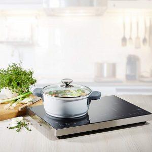 Bếp từ đôi Caso Sline 3500