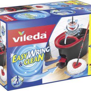 Bộ cây lau nhà Vileda Turbo Easy Wring and Clean