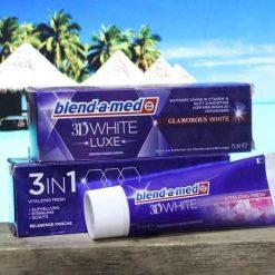 Kem đánh răng 3D White Blend - a - med