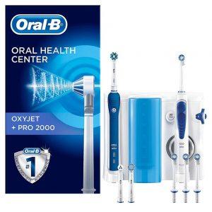 Bàn chải điện Oral-B Pro 2000 + OxyJet