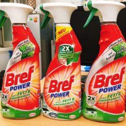 Nước tẩy rửa Bref Power đa năng