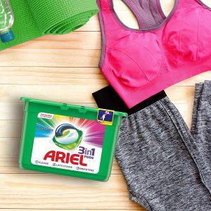 Viên giặt tẩy quần áo chuyên dụng Ariel 3 in 1
